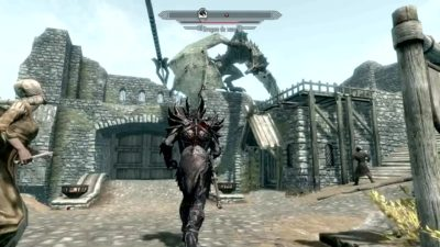 Skyrim Dragon Vs Full Daedrique Shqey P4j U Vignette